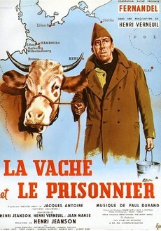 Корова и солдат (Франция, Италия, 1959)