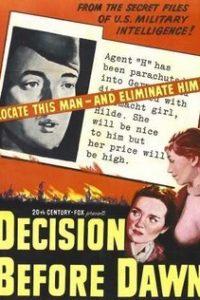 Решение перед рассветом (США, ФРГ, 1951)