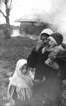 Женщина из убитой деревни 1975 ссср