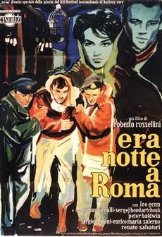 в риме была ночь фильм 1960 роберто росселлини