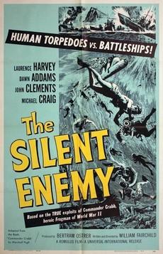 невидимый враг боевые пловцы фильм 1958